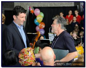 Paul Dewar and Ian at FfP Day 2012
