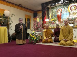 Ian Prattis  Director of Programing of Vesak In Ottawa talking about the goals and plans2 (2)