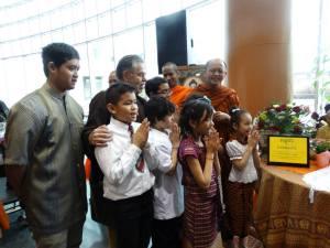 Vesak Day 2 - Cambodian Children chanting