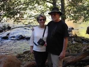 Ian & Carolyn at Oak Creek Cathedral Rock